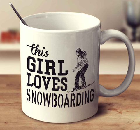 This Girl Loves Snowboarding