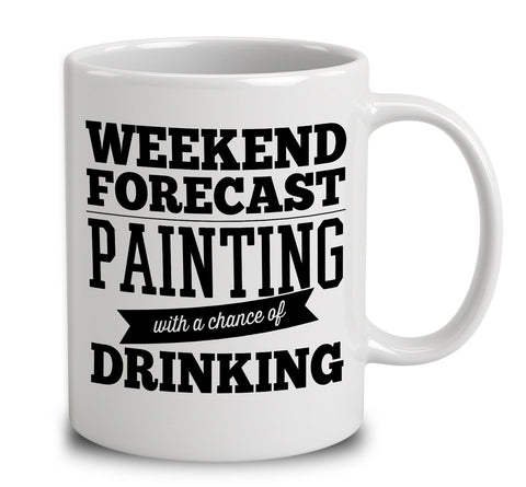 Weekend Forecast Painting With A Chance Of Drinking