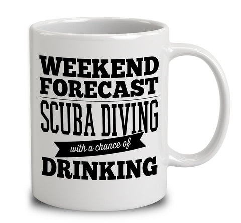 Weekend Forecast Scuba Diving With A Chance Of Drinking