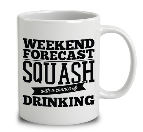 Weekend Forecast Squash With A Chance Of Drinking