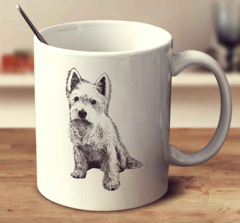 West Highland White Terrier 2 Sketch