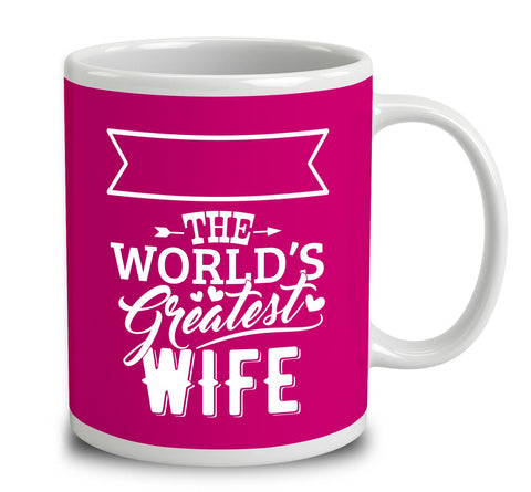 Personalised World's Greatest Wife