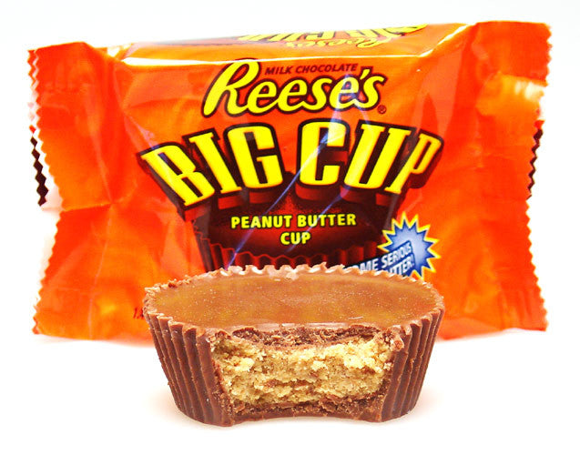 REESE'S BIG CUP PEANUT BUTTER CUPS