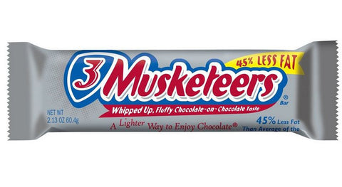 3 Musketeers Chocolate Bar - 60.4g
