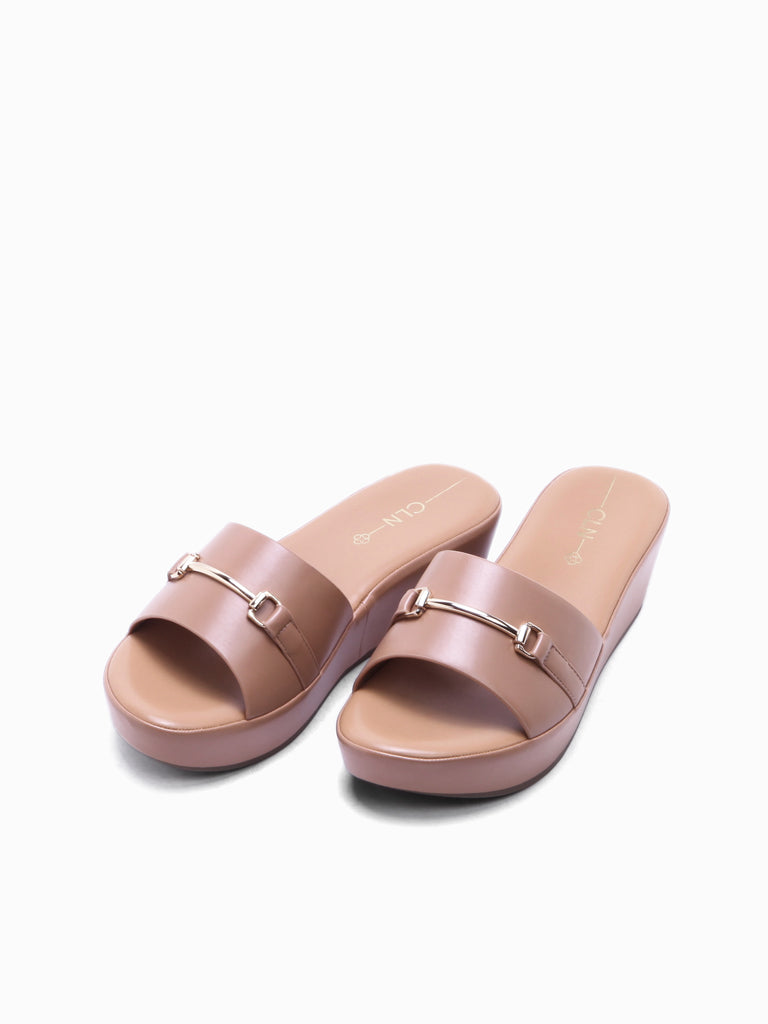Cara Wedge Slides