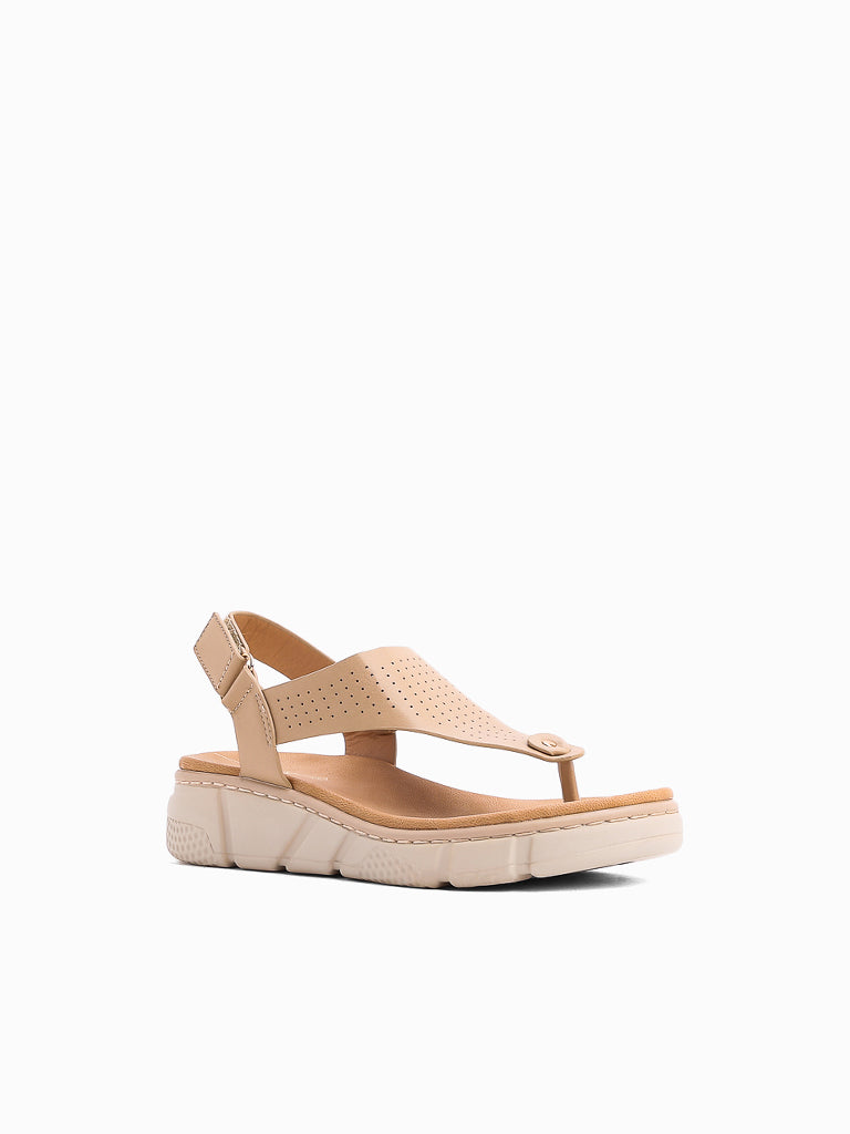 Collard Wedge Sandals