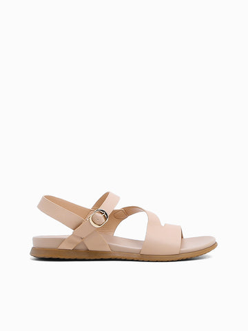 Pansy Flat Sandals