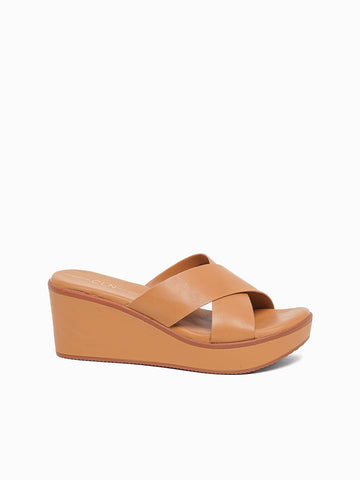Tansy Wedge Slides
