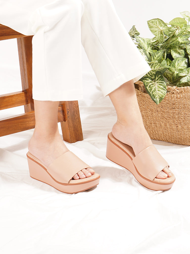 Tarragon Wedge Slides