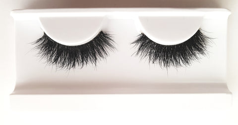 Mink Strip Lashes Type 36 3D Clear Band
