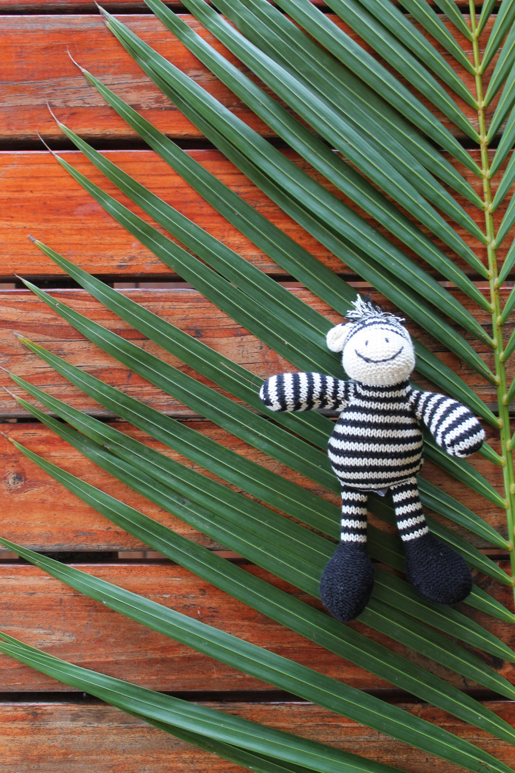Zac The Zebra Baby Rattle