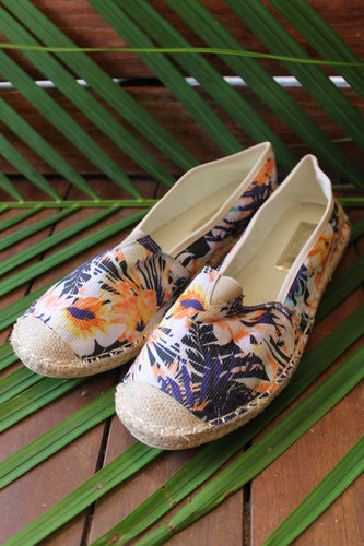 Tropical Espadrille - Sunflower