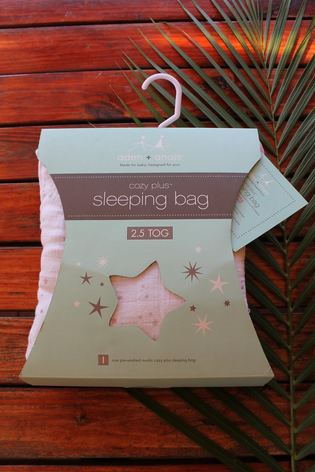 Aden and Anais Lovely Starburst Cozy Plus Sleeping Bag 2.5 TOG