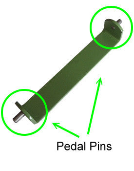 Morso Pedal Pins x2 - Underpinner Spares
