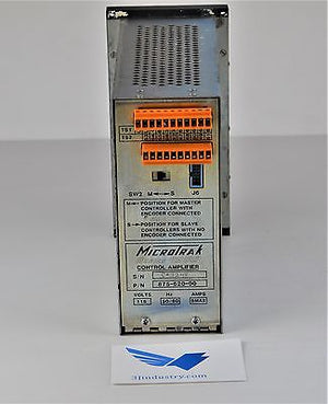 Web Tracker - 875-620-00 - SERIES 9500 - Control Amplifier  -  MICROTRACK 9500 C