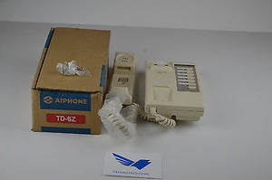 TD-6Z  -  AIPHONE Intercom Alarm / Camera System