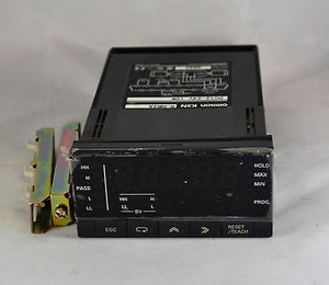 K3NR-NB2A - OMRON K3NR Frequency Rate Meter 50kHz 1/8DIN 12 to 24 VDC NPN / PNP