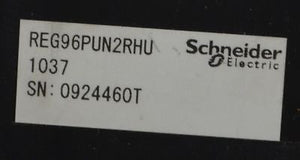 REG96PUN2RHU  SCHNEIDER ELECTRIC - TELEMECANIQUE