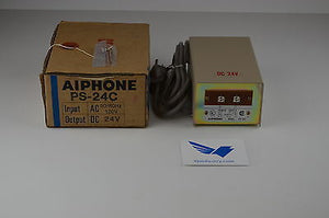 PS-24C  -  AIPHONE Intercom Alarm / Camera System