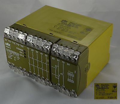 PNOZ3 474894 PILZ Emergency Stop Relays Safety Gate Monitors Category 3 EN 954-1