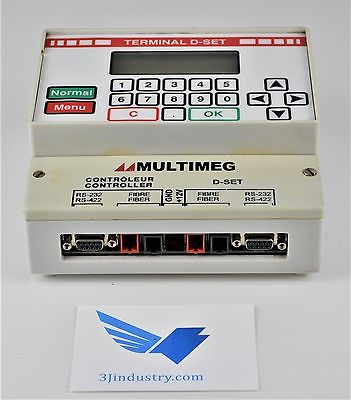 CONTROL TERMINAL D-SET W/KEYPAD DISPLAY - MULTIMEG  -  COMACT / MULTIMEG MULTIME