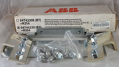 64744330 (R8) + H354  -  ABB  -  ACS800-04M of frame size R8 with busbars on the