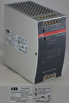 1SVR427034R0000 - CP-E 24/5.0 ABB POWER SUPPLY
