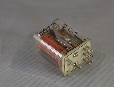 Lot of 10 Relay - R10-E2-Y2-V700  -  Potter & Brumfield  -  Power Relay