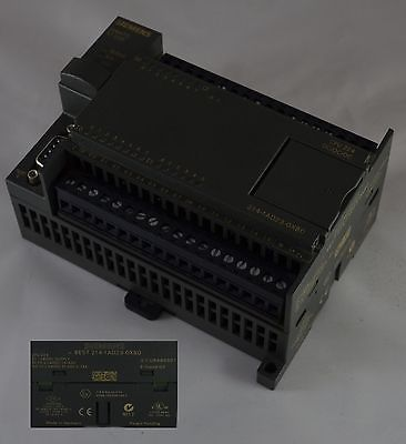 6ES7 214-1AD23-OXBO Siemens PLC S7-200 - CPU 20KBYTE MEMORY 14IN 10OUT CPU224