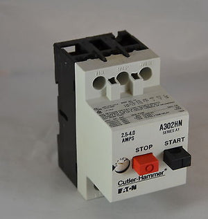 A302HN  -  Cutler-Hammer  -  Manual Motor Starter And Protector