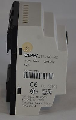 EASY412-AC-RC Klockner Moeller PLC Easy With Display, 8x In 4x Out 100/240V