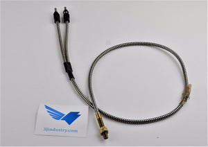 BT23S - 17276 Fiber Optic STAINLESS STEEL SHEATHED FIBER OPTICS  -  Banner