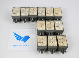 Lot of 12 Relay C2-A20-120VAC - Releco - Coil 120VAC  -  Releco C2 - MRC Series Relay
