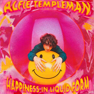 "Alfie Templeman - Happiness In Liquid Form Ep [Limited 10"" Yellow with Berry (Red) splatter Color Vinyl]"