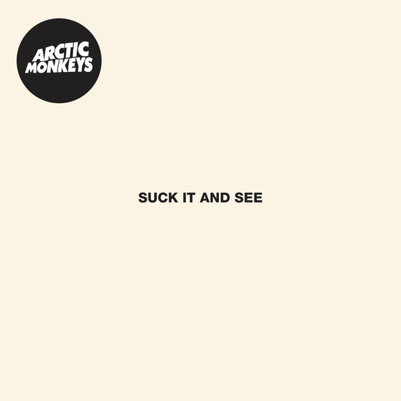 Arctic Monkeys - Suck It and See Vinyl Record  (4680201539)