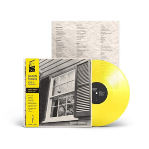 Beach Fossils - What a Pleasure [Yellow Color Vinyl Record]  (2252605685819)