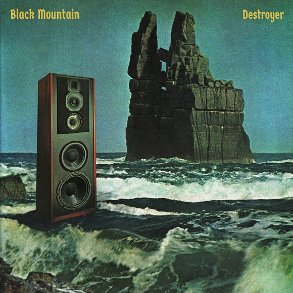 Black Mountain - Destroyer [White Color Vinyl Record]  (2196300234811)