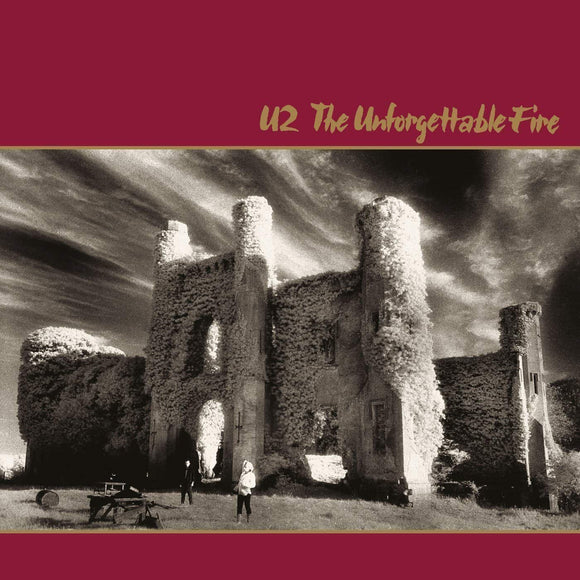 U2 - The Unforgettable Fire Vinyl Record w/ Booklet  (2544420547)
