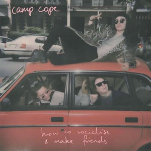 Camp Cope - How to Socialise and Make Friends [Baby Pink and Black Swirl Color Vinyl]  (4390594936896)
