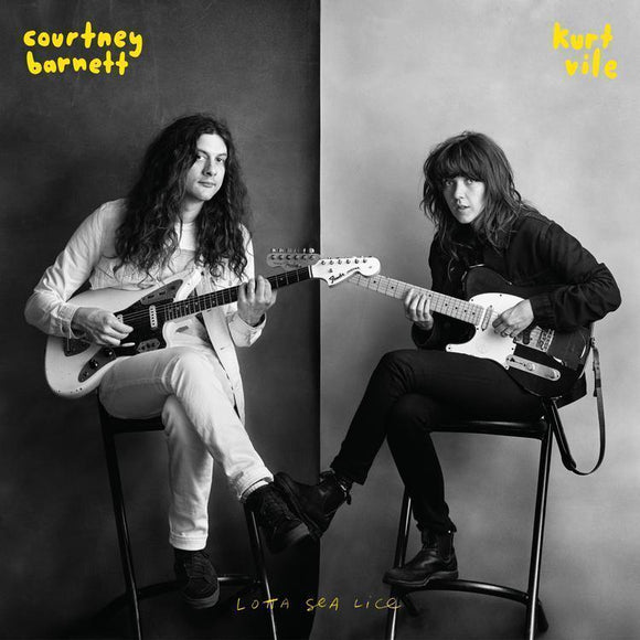Courtney Barnett & Kurt Vile - Lotta Sea Lice Vinyl Record  (11375283150)