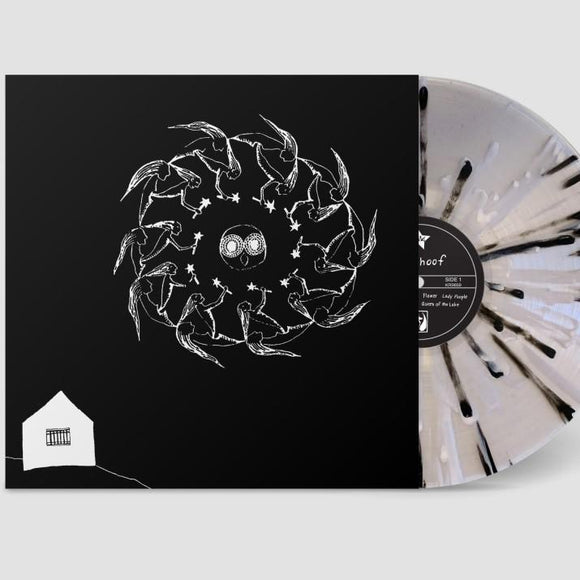 Deerhoof - Holdypaws (Remastered) [LTD ED Black/White/Cream Starburst on Clear Vinyl]  (4349950296128)