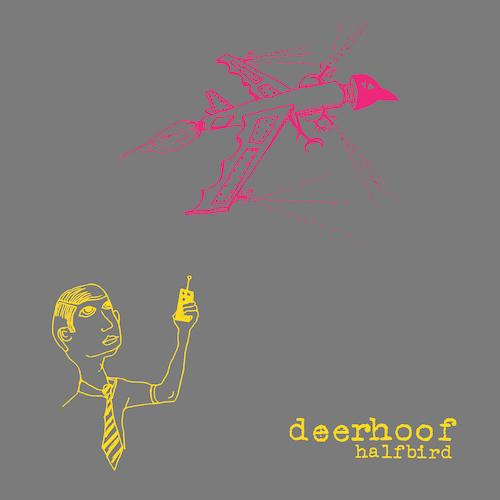 Deerhoof - Halfbird [Pink & Yellow Split Color Vinyl]  (4354363981888)