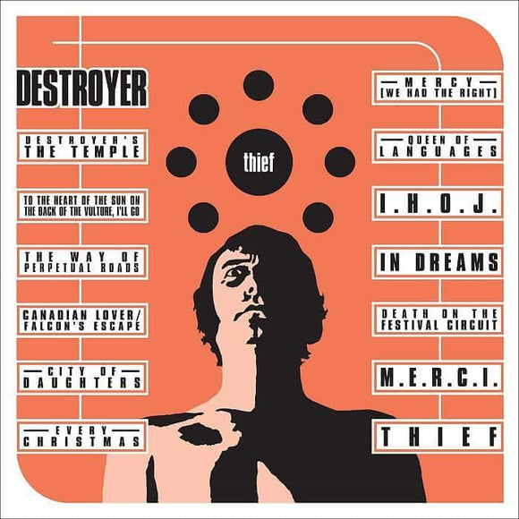 Destroyer - Thief (Reissue) [Ltd. Ed. Orange Creamsicle color vinyl]  (1337861341243)