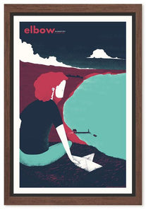 ELBOW @ A SUMMER'S TALE HAMBURG Gig Poster  (4412515778624)