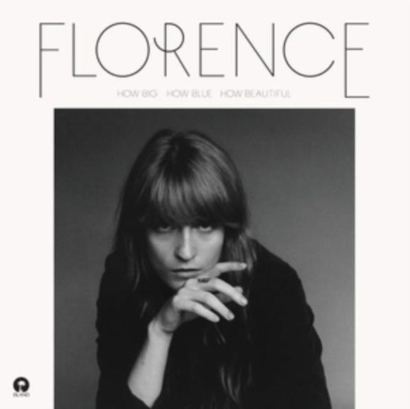 Florence and The Machine - How Big, How Blue, How Beautiful (2LP) Vinyl Record  (5240817877149)