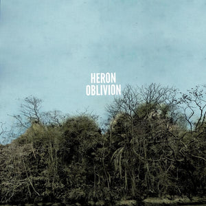 Heron Oblivion - Heron Oblivion [VERY RARE - Clear With White Marble Color Vinyl]  (4360988131392)