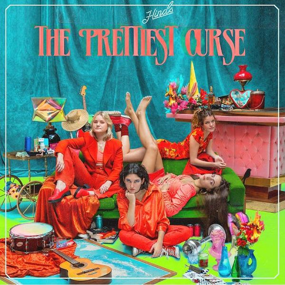 Hinds - The Prettiest Curse [Two Color Vinyl Record Options]  (4393812688960)