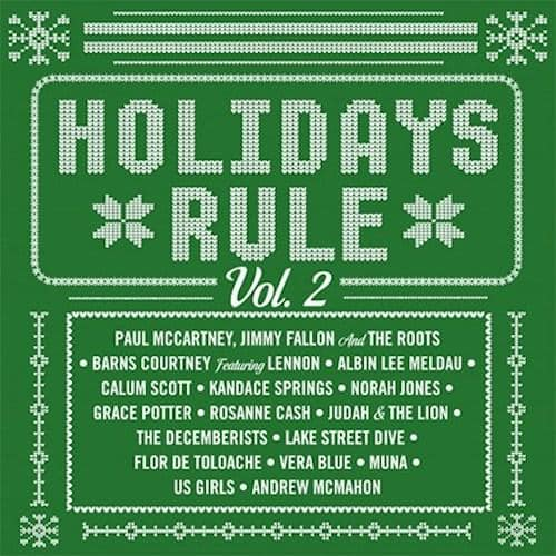 Holidays Rule: Vol. 2 - Various Artists [Limited Red Color Vinyl Record]