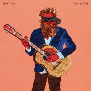 Iron & Wine - Beast Epic [Deluxe 2LP red & blue vinyl with alternate artwork]  (10972291214)