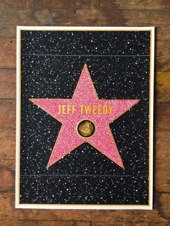 Jeff Tweedy – Los Angeles 2018 Gig Poster  (1881462833211)